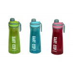 Plastic Water Bottle in Combo Color Pack of 3, 1000 ML, Assorted