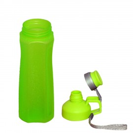 Plastic Water Bottle in Green Color, 800 ML, Assorted