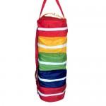 Multi Colored Travel  Shoe Organiser