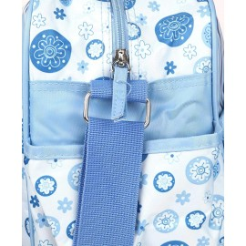 Blue Multipurpose Baby Diaper Bag with Changing mat